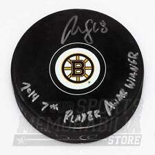 Reilly Smith Boston Bruins Signed Autographed 7th Player Award Inscribed Puck