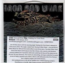 (CA100) Iron and Wine, Walking Far From Home - 2011 DJ CD