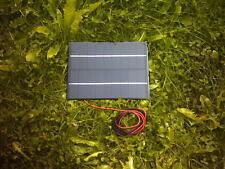 9VOLT 4.5WATT 500MA SOLAR PANEL FOR 7.2V BATTERY CHARGING ETC