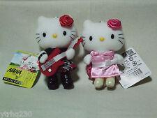 Hello Kitty x NANA mascot plush doll set of 2 Komatsu,Osaki Sanrio 2005 NWT