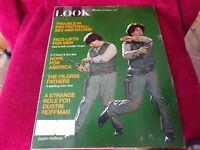 Look Magazine: Dec. 1970 Issue; Features Dustin Hoffman