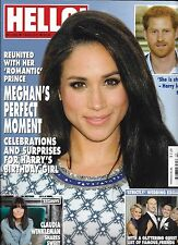 Hello magazine Meghan Markle Prince Harry Susan Sarandon Claudia Windleman