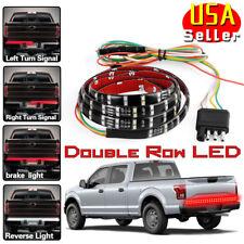 60 Inch 2-Row LED Truck Tailgate Light Strip Bar Reverse Brake Signal for Ford