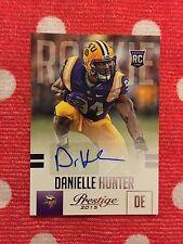 Danielle Hunter Minnesota Vikings Panini Prestige Rookie Auto 2015