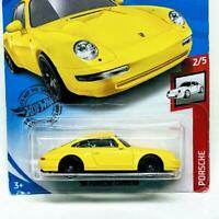 2020 Hot Wheels Porsche Series 2/5 1996 '96 Porsche Carrera Yellow #72/250