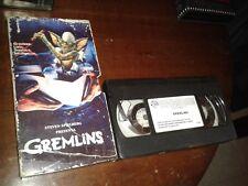 LOS GREMLINS 1981 JOE DANTE RARA EDICION TELEPIZZA CARTON VHS PAL ESPAÑA