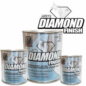 KBS Diamond Finish Clear - Permanent Ultra High Performance Clear Coat - 118ml