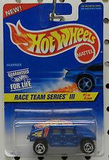 DRAG RACE TEAM 533 1997 1 III 3 CHEVY TRUCK HUMMER BLUE ARMY 4X4 HOT WHEELS HW