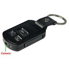 Mini HD 1080P 8Pin USB Spy Metal Body Car Key Remote DVR Night Vision Camera