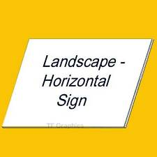 Custom Correx Signs - Multiple Sizes Available - Designed To Your Requirements!