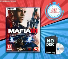 PC Game * Mafia III 3 - Includes Family Kick Back Pack- 1st Class Del