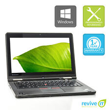 """Lenovo Yoga 12 2-IN-1 Laptop 12.5"""" Touch Core i5 2.2GHz 4GB 256GB SSD Win 10 WAA"""
