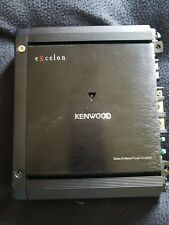 Kenwood eXcelon Mono Subwoofer Amplifier 500 Watts X501-1 Car Amp X5011