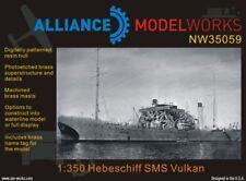 Alliance Model Works 1:350 Hebaschiff SMS Vulkan Resin Kit #NW35059