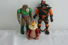 Original Thundercats x 3 Action Figures 1980s very good excellent condition