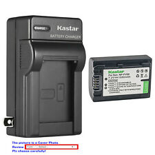 Kastar Battery Wall Charger for Sony NP-FV50 & Sony DCR-SX15 DCR-SX20 DCR-SX21