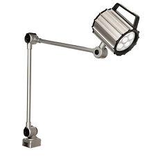 LED Maschinenleuchte Arbeitsplatzleuchte 24V 9W mit 400x400 mm Gelenkarm