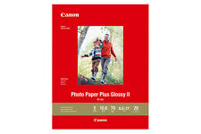 """Canon Photo Paper Plus Glossy Ii 5"""" X 7"""" - 20 sheets - New & Sealed in Package"""