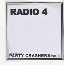 (FN857) Radio 4, Party Crashers - 2004 DJ CD