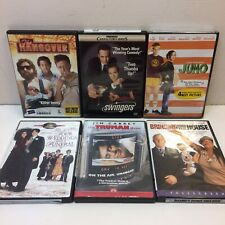 Lot of 6‼ DVD COMEDY Movies The Hangover Swingers Juno Truman Show Four Weddings