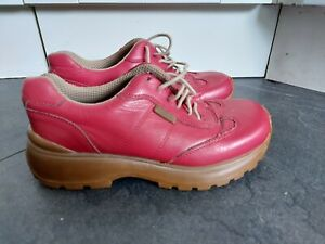 FAB 90s style CHUNKY SOLE TRAINERS RED from KANGOL Size 5 38