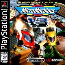 Micro Machines V3 - PS1 PS2 Playstation Game