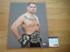 Cain Velasquez Signed 11x14 Photo PSA DNA COA UFC Dethrone Brown Pride Champ a