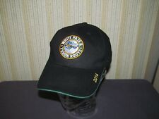 WHITE PASS & YUKON ROUTE TRAIN hat sports cap black SKAGWAY ALASKA railroad