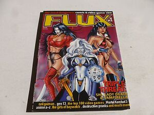 FLUX Comic - Vol 1 - No 1 - Date - Harris Comics