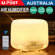 500ml Essential Air Mist Oil Aroma Diffuser Ultrasonic Humidifier Aromatherapy