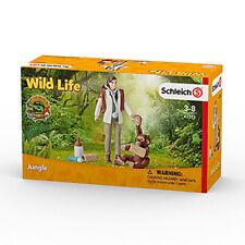 Schleich 42353 Vet at Work with Baby Orangutan Figurine Wild Life Plastic Figure