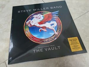 Steve Miller Band - Selections From The Vault (CLEAR VINYL) LP Vinyl Record NEW
