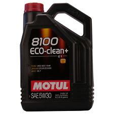 Motul 8100 Eco-clean+ 5W-30 5 LITRI SPECIFICHE FIAT, FORD E JAGUAR