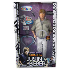 Collectible Justin Bieber Concert Style Special Edition Singing Doll - Love Me