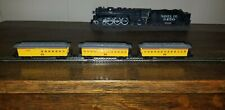 N scale old time 3 passenger car Set UP Bachmann old timer