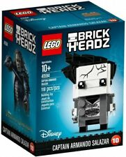 LEGO BrickHeadz Captain Armando Salazar 2017 (41594) Building Kit 118 Pcs