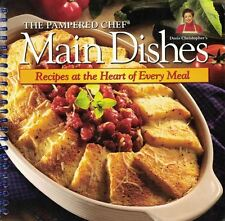 The Pampered Chef MAIN DISHES Cookbook Spiral Recipes at the Heart of Every Meal