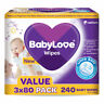 Babylove Wipes - 80 Pack X 3 Fragrance Free Hypoallergenic Alcohol Free