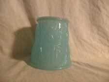 SOFT BLUE (BLUE MILK GLASS) CLIP-ON SHADE