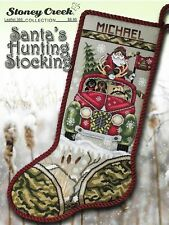 Santa's Hunting Stocking LFT366 Christmas cross stitch pattern