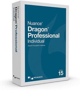 Nuance Dragon Professional Individual 15 - New Retail Box, K809A-G00-15.0