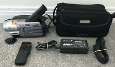 Sony Handycam Camcorder - Hi 8 8mm Tape Video Camera CCD-TRV59E 560x Zoom Pal