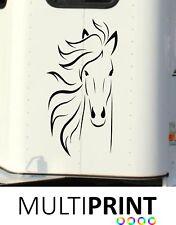 HORSE BOX GRAPHICS STICKERS LINE ART DECALS SELF ADHESIVE VINYL DECALS HOR7