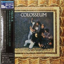Colosseum-For Those about to Die UK prog jazz Japanese mini lp Blu-Spec