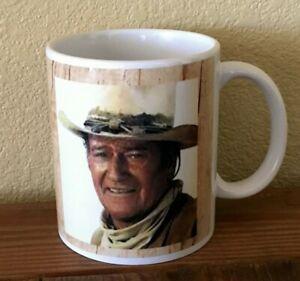 "Coffee Mug 11oz John Wayne ""...Harder if you're stupid"", Western White Gloss"