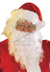 Father Christmas Xmas Party 1 x Santa Claus Beard Dress Up Costume Accessories