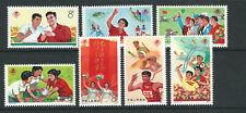 CHINA PRC 1975 3rd NATIONAL SPORTS MEET (Scott 1232-38) VF/XF MNH