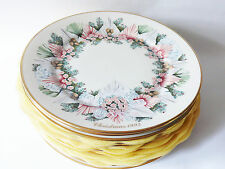 Reduced Price All 13 Lenox Colonial Christmas Wreath Plates 1981-93, US Colonies
