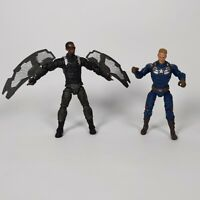 Falcon & Captain America Marvel Universe Figure Hasbro 2013. Winter Soldier 4""