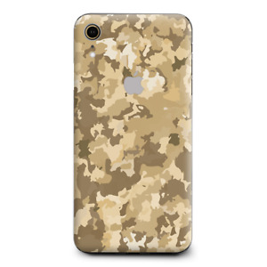 Skins Decal Wrap for Apple iPhone XR - Brown Desert Camo camouflage